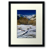High Country Winter Framed Print