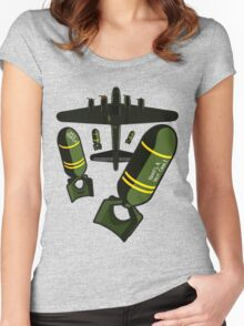 Bombs Away! Women's Fitted Scoop T-Shirt