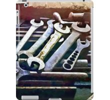 Wrenches in Machine Shop iPad Case/Skin