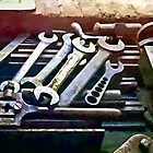 Wrenches in Machine Shop by Susan Savad