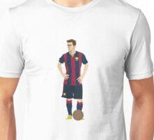 Lionel Messi Illustration Unisex T-Shirt