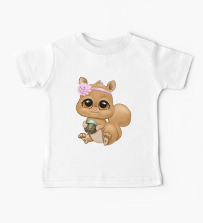 Baby Squirrel Baby Tee
