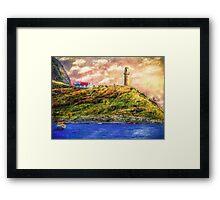 Sea Watcher Framed Print