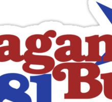 Reagan Bush 1981 Sticker