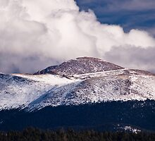 The Road to Pikes Peak by Charles Dobbs Photography