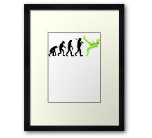 Zlatan Ibrahimovic Evolution Framed Print