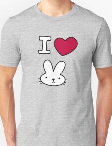 I<3Bunny Unisex T-Shirt
