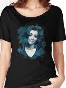 Splatter Willow Women's Relaxed Fit T-Shirt