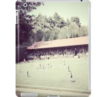 Soccer in the afternoon iPad Case/Skin