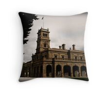 The Mansion Throw Pillow