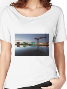 Glasgow River Clyde Reflection Women's Relaxed Fit T-Shirt