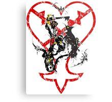 Kingdom Hearts v1 Metal Print