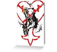 Kingdom Hearts v1 Greeting Card