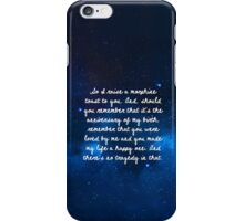 third star iPhone Case/Skin