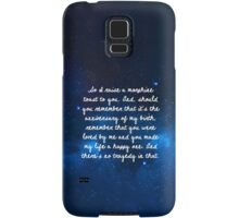third star Samsung Galaxy Case/Skin