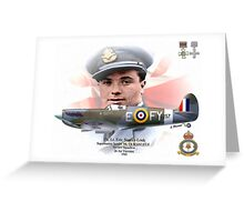 Flt. Lt. Eric Stanley Lock Greeting Card