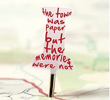 paper towns by Li J Cheung