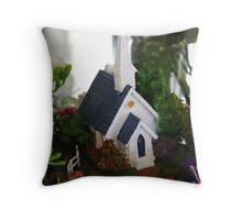 wedding chappel Throw Pillow