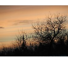 Cheyenne Sunset Photographic Print