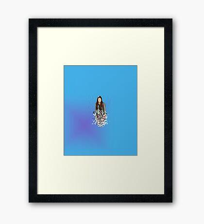 genius, yes Framed Print