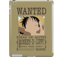 Monkey D Luffy iPad Case/Skin