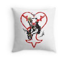 Kingdom Hearts v1 Throw Pillow