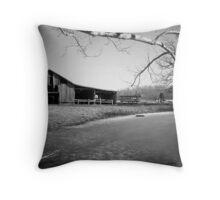 Tennessee Barnyard Throw Pillow