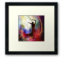 Flamencoscape 16 Framed Print