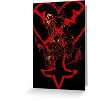 Kingdom Hearts v2 Greeting Card