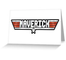 Maverick callsign Greeting Card
