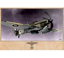 Hawker Hurricane Mk.V Photographic Print