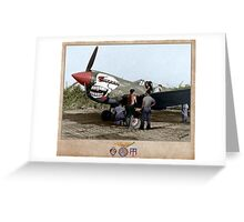 "Curtiss P-40N ""Lulu Belle"" Greeting Card"