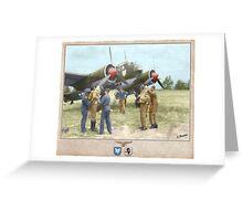 Junker Ju 88A-4 Greeting Card
