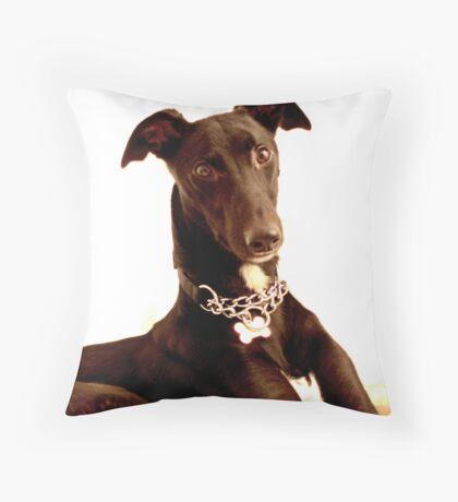 The Lurcher Throw Pillow