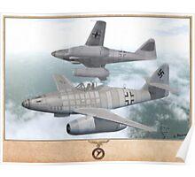 Messerschmitt Me-262A-2a  Poster