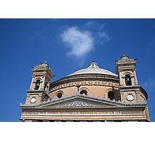 Mosta Church Photographic Print
