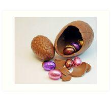 Easter Eggs, 2 Art Print
