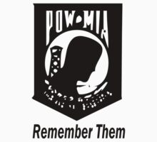 Remember Them POW MIA by Ryan Houston
