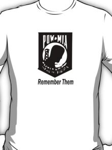Remember Them POW MIA T-Shirt