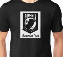 Remember Them POW MIA 2 Unisex T-Shirt