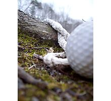 gone golfing Photographic Print