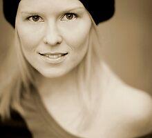... just gentle portrait... by Jacek Walczak
