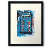 Impression of The TARDIS Framed Print