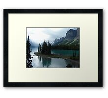 The Breath of Spirit Island Framed Print