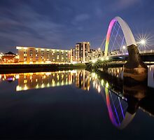 Glasgow Clyde Arc Bridge by Grant Glendinning