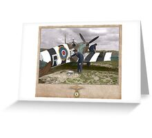 D-Day Invasion Stripes Greeting Card