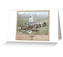 Supermarine Spitfire Mk XII Greeting Card