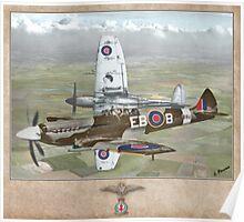 Supermarine Spitfire Mk XII Poster