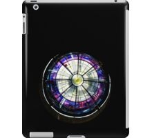 A Dazzling Stained Glass Jewel Emerging From the Darkness iPad Case/Skin