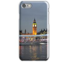 High tide on the Thames iPhone Case/Skin